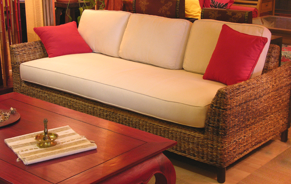 Living Room Sofa - Abaca