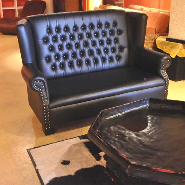 Oxford Black Sofa